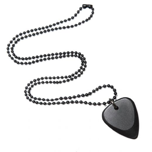Fusion Tones Black Anodise Necklace